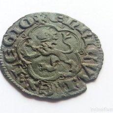 Monedas medievales: MUY BONITA MEDIA BLANCA ENRIQUE III SEVILLA. Lote 124736443