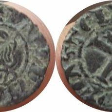 Monedas medievales: BONITO CORNADO SEISEN DE SANCHO IV 1284-1295. Lote 128173971