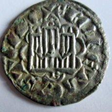 Monedas medievales: ALFONSO X - DINERO -BURGOS. Lote 128420283