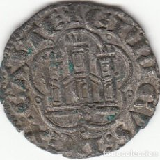 Monedas medievales: CASTILLA: ENRIQUE III (1390-1406) ) MEDIA BLANCA - SEVILLA / AB-607.VARIANTE / ESCASA. Lote 130780600