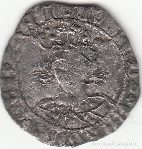 CASTILLA: ENRIQUE IV (1454-1474) MEDIO CUARTILLO - TOLEDO / AB-771 - ESCASA (Numismática - Medievales - Castilla y León)