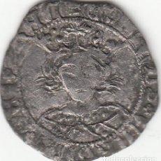 Monedas medievales: CASTILLA: ENRIQUE IV (1454-1474) MEDIO CUARTILLO - TOLEDO / AB-771 - ESCASA. Lote 130854104