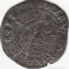 Monedas medievales: CASTILLA: ENRIQUE IV (1454-1474) MEDIO CUARTILLO - SEVILLA / AB-780.1. Lote 130856536