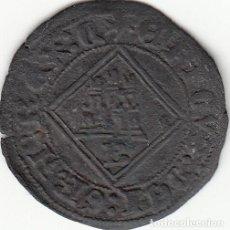 Monedas medievales: CASTILLA: ENRIQUE IV (1454-1474) BLANCA DE ROMBO - BURGOS / AB-828. Lote 130914240