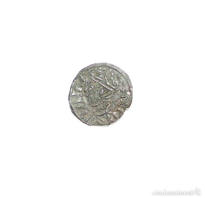 DINERO NOVEN . SANCHO IV. CECA LEON. (Numismática - Medievales - Castilla y León)