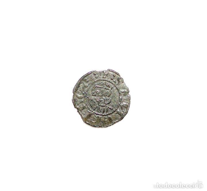 DINERO DE VELLÓN. SANCHO IV. CECA BURGOS. (1284-1295) (Numismática - Medievales - Castilla y León)