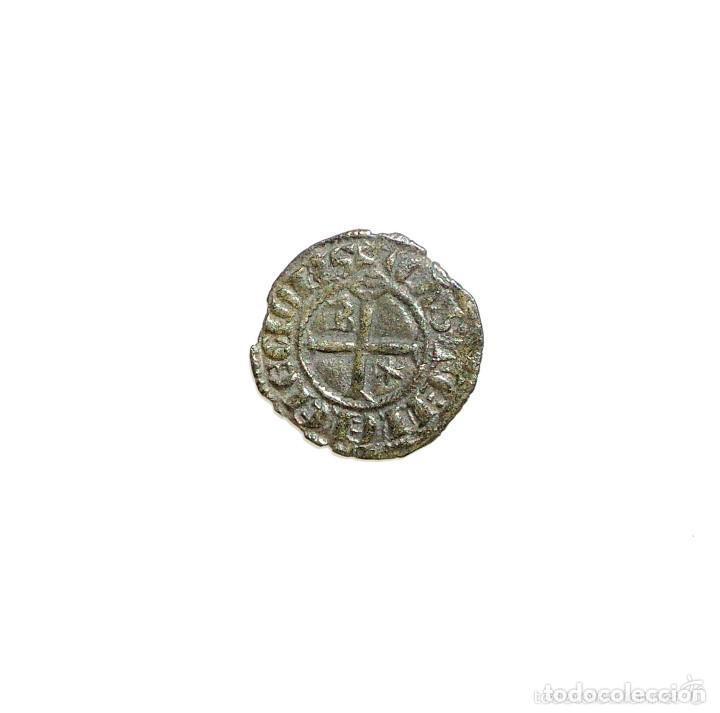 Monedas medievales: DINERO DE VELLÓN. SANCHO IV. CECA BURGOS. (1284-1295) - Foto 2 - 132463698