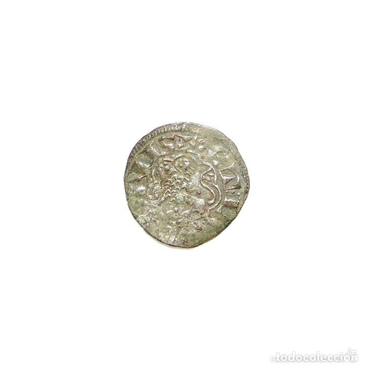 Monedas medievales: Alfonso X de Castilla Leon. pepion. Sevilla - Foto 2 - 132463882
