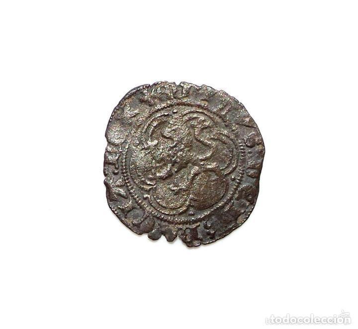 Monedas medievales: BLANCA ENRIQUE III - BURGOS - Foto 2 - 132470254