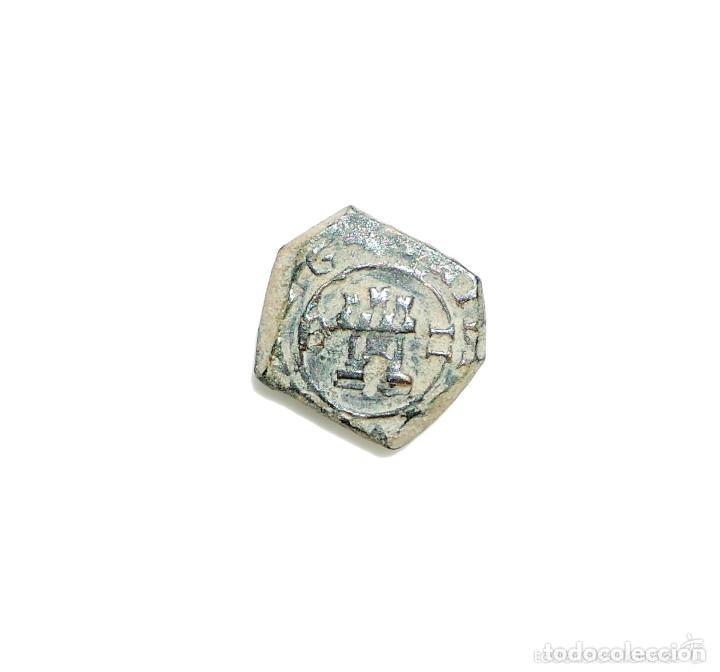 Monedas medievales: FELIPE IV 2 Maravedis 1622 BURGOS - Foto 2 - 132471154