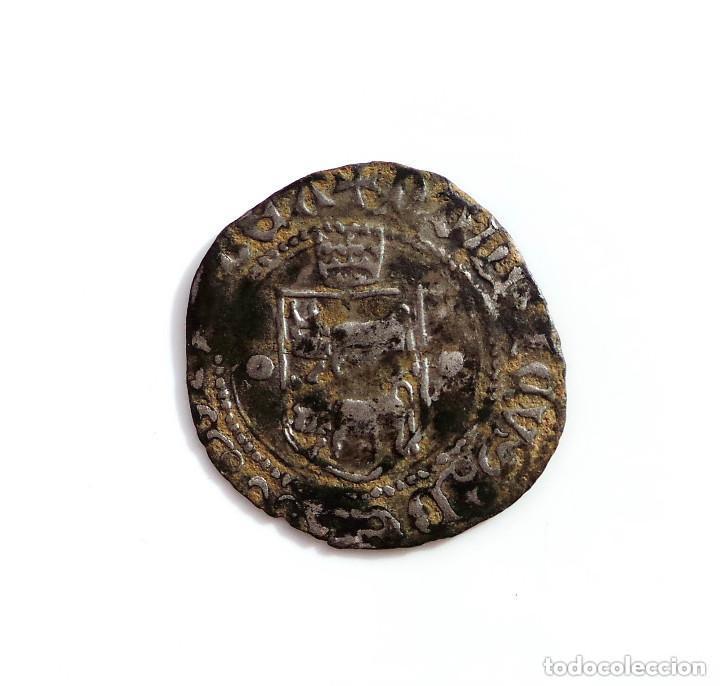 BLANCA DE VELLÓN DE ENRIQUE II DE NAVARRA (1516-1555) (Numismática - Medievales - Castilla y León)