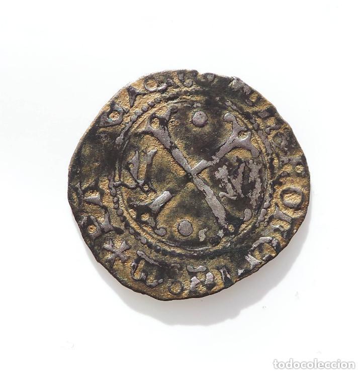 Monedas medievales: BLANCA DE VELLÓN DE ENRIQUE II DE NAVARRA (1516-1555) - Foto 5 - 132684342