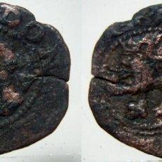 Monedas medievales: MONEDA DE 2 MARAVEDIS DE FELIPE II. Lote 132837578