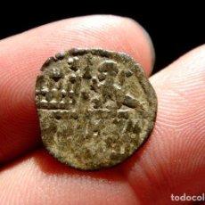 Monedas medievales: ALFONSO X, EL SABIO DINERO DE 6 LÍNEAS. VELLÓN. M242. Lote 134444222