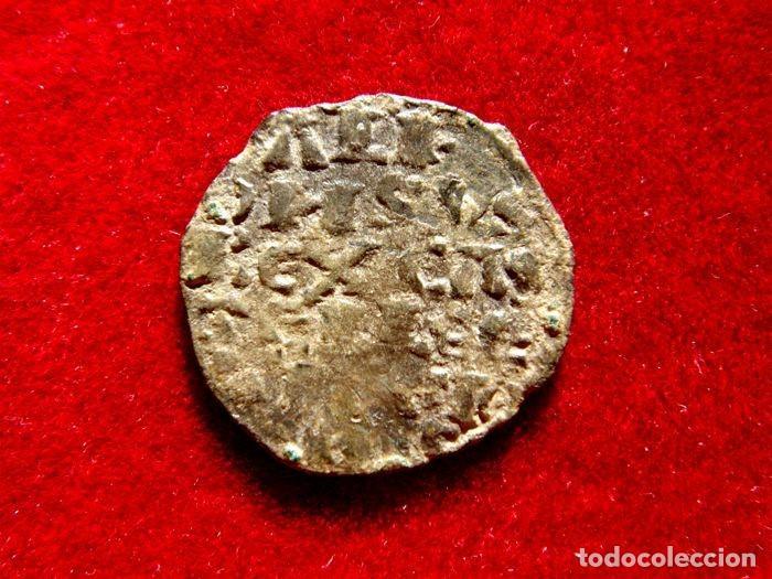 ALFONSO X, EL SABIO. ESCASO DINERO DE 6 LÍNEAS. VELLÓN. LA CORUÑA M245 (Numismática - Medievales - Castilla y León)