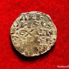 Monedas medievales: ALFONSO X, EL SABIO. ESCASO DINERO DE 6 LÍNEAS. VELLÓN. LA CORUÑA M245. Lote 134444542