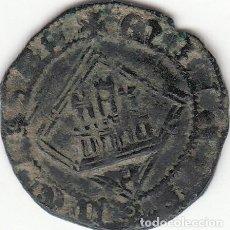 Monedas medievales: CASTILLA: ENRIQUE IV (1454-1474) BLANCA ROMBO AVILA / AB-827. Lote 134557266