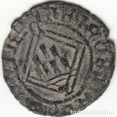 Monedas medievales: CASTILLA: ENRIQUE IV (1454-1474) BLANCA ROMBO CUENCA / AB-831.2 VAR. Lote 134559262