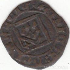 Monedas medievales: CASTILLA: ENRIQUE IV (1454-1474) BLANCA ROMBO CUENCA / AB-831.5. Lote 134559794