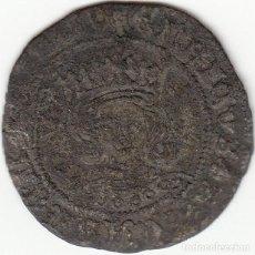 Monedas medievales: CASTILLA: ENRIQUE IV ( 1454-1474 ) CUARTILLO SEVILLA / AB-755.1. Lote 135328934