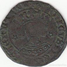 Monedas medievales: CASTILLA: ENRIQUE IV ( 1454-1474 ) CUARTILLO SEVILLA / AB-755.6. Lote 135330470
