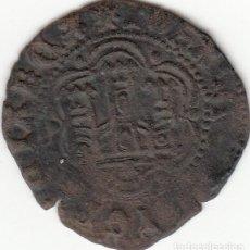 Monedas medievales: CASTILLA: JUAN II ( 1406-1454 ) BLANCA CORUÑA / AB-626. Lote 135888666