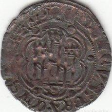 Monedas medievales: CASTILLA: ENRIQUE III ( 1390-1406 ) BLANCA SEVILLA / AB-602 VARIANTE. Lote 136473170
