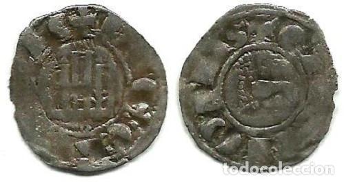 FERNANDO IV - PEPION DE BURGOS - 1295 / 1312 (EMBELLECIDA) (Numismática - Medievales - Castilla y León)