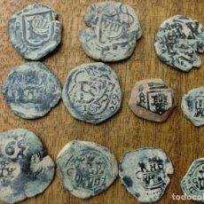 Monedas medievales: BONITO LOTE DE 11 MONEDAS DEL REINADO DE LOS AUSTRIAS.. Lote 139907722