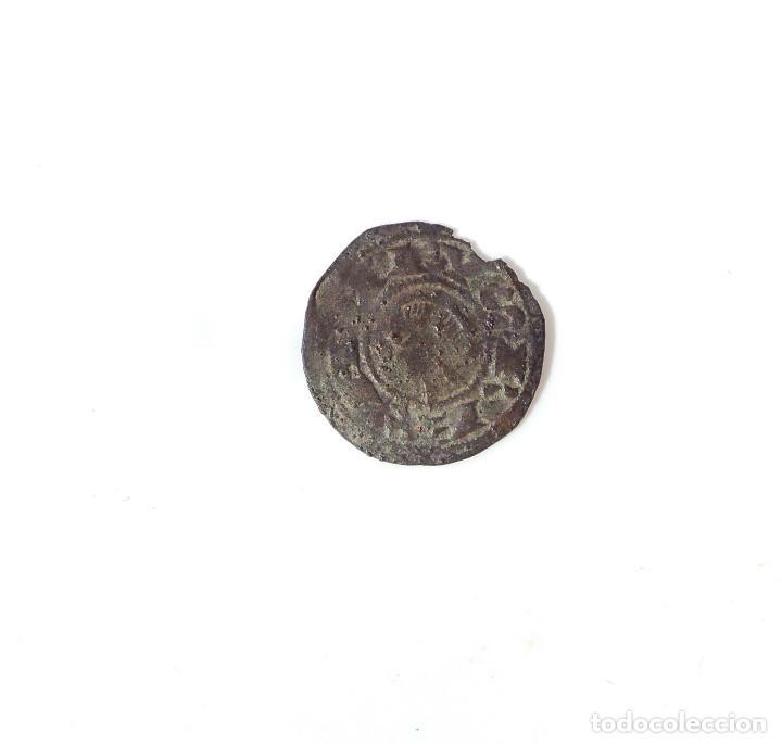 Monedas medievales: DINERO DE ALFONSO I DE ARAGÓN 1109/1126 - VARIANTE ESTRELLA SOLO EN 1º CUADRANTE - Foto 2 - 139973010