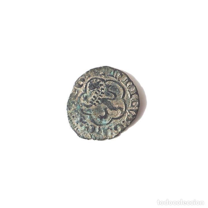 Monedas medievales: ENRIQUE III DE CASTILLA.- BLANCA.- CECA SEVILLA - Foto 2 - 140124138