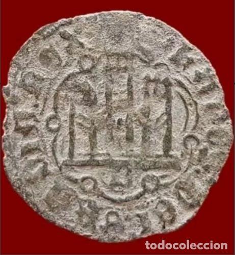 Monedas medievales: España - Juan II de Castilla (1406-1454) - Blanca de vellón - Burgos. B. - Foto 2 - 140813558