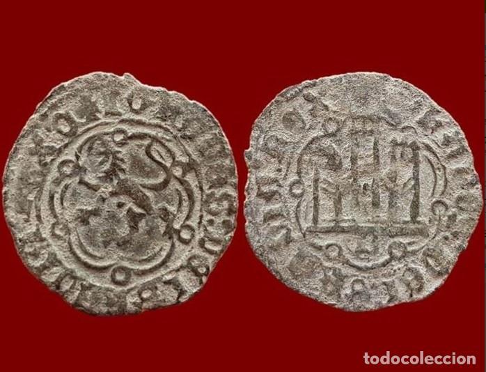 Monedas medievales: España - Juan II de Castilla (1406-1454) - Blanca de vellón - Burgos. B. - Foto 3 - 140813558