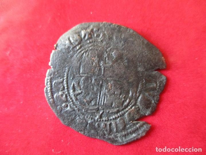 Monedas medievales: Reino de Castilla Leon. Enrique II. real de vellon. Cuenca.1368/1379. #mn - Foto 2 - 142753124