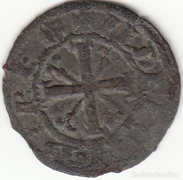 REINO DE LEON: ALFONSO IX ( 1188-1230 ) DINERO - CECA ¿LEON? / CATALOGO AB-139 ESCASA (Numismática - Medievales - Castilla y León)