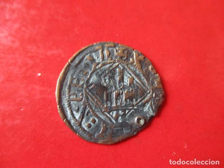 ENRIQUE IV.- 1454/1474. BLANCA DE ROMBO. AVILA (Numismática - Medievales - Castilla y León)