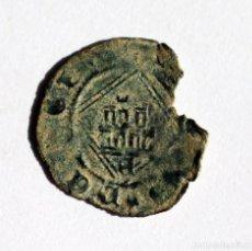 Monedas medievales: MUY ESCASA BLANCA ROMBO ENRIQUE IV AVILA 1454-1474. Lote 146704722