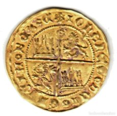 Monedas medievales: REINO CASTILLA DOBLA DE ORO DE LA BANDA JUAN II SEVILLA (1406-1454). Lote 147618658