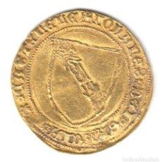 Monedas medievales: REINO CASTILLA DOBLA DE ORO DE LA BANDA JUAN II CECA DE SEVILLA (1406-1454). Lote 147732126