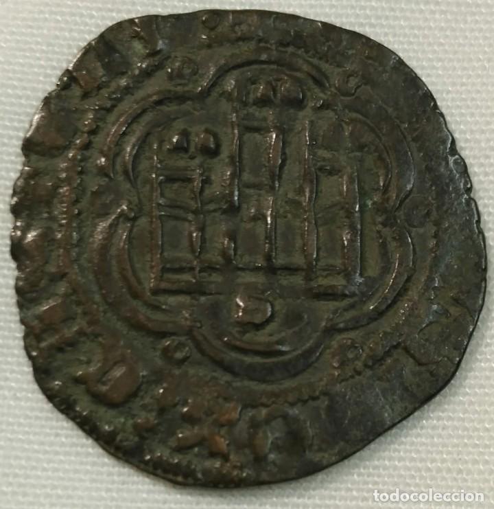 ENRIQUE III BLANCA CON CECA DE SEVILLA (Numismática - Medievales - Castilla y León)