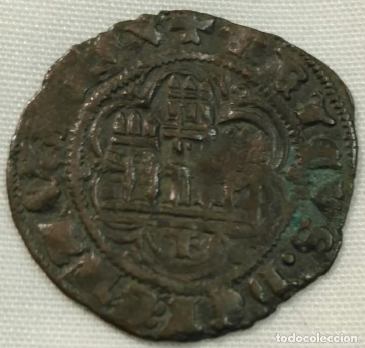 ENRIQUE III BLANCA CON CECA DE BURGOS (Numismática - Medievales - Castilla y León)