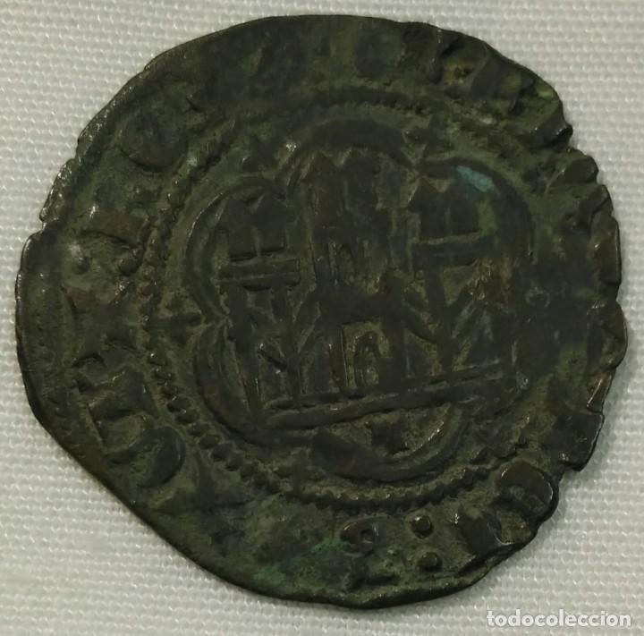 ENRIQUE III BLANCA CON CECA DE TOLEDO (Numismática - Medievales - Castilla y León)