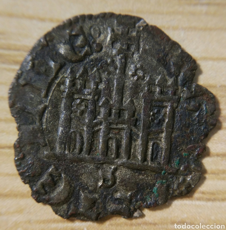 Monedas medievales: Cornado de Sevilla, Juan I de Castilla (1379-1390) - Foto 2 - 150816102