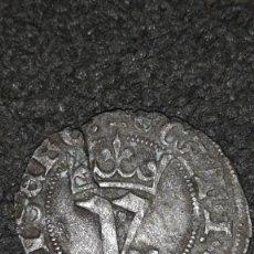 Monedas medievales: JUAN I (1379-1390) BLANCA DEL AGNUS DEI SEVILLA . Lote 152523854