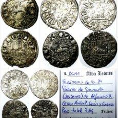 Monedas medievales: OFERTA VELLÓN ALFONSO X! 5 DINEROS SEISENES. Lote 152594176