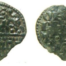 Monedas medievales: MONEDA DE ALFONSO X DINERO DE SEIS LINEAS. Lote 153416918