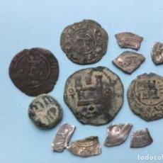 Monedas medievales: *NUMA*L.-10.- -LOTE 12 P. JAIME Iº RR.CC MEDIEVAL.+ 7 FRACC .EN MANO MEJOR . VER FOTOS.PUJEN SEGURO. Lote 155668038