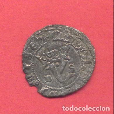 Monedas medievales: juan I agnus dei , burgos, en el reverso b s, ver fotos - Foto 2 - 155799726