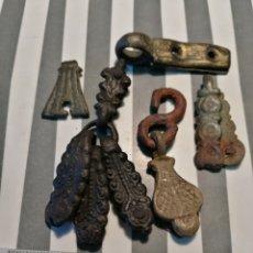 Monedas medievales: LOTE PIJANTES JAECES CABALLERÍA MEDIEVAL. Lote 157851433