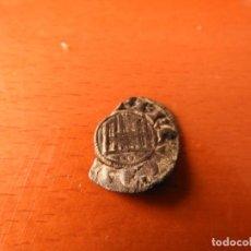 Monedas medievales: MONEDA MEDIEVAL ALFONSO X EL SABIO. MARAVEDÍ PRIETO VELLÓN 0,66 GRAMOS - DINERO - REINO DE CASTILLA . Lote 161497118